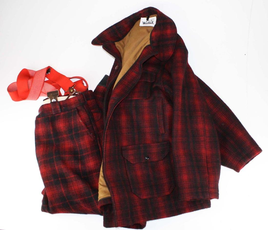 Woolrich Wool jacket and pants