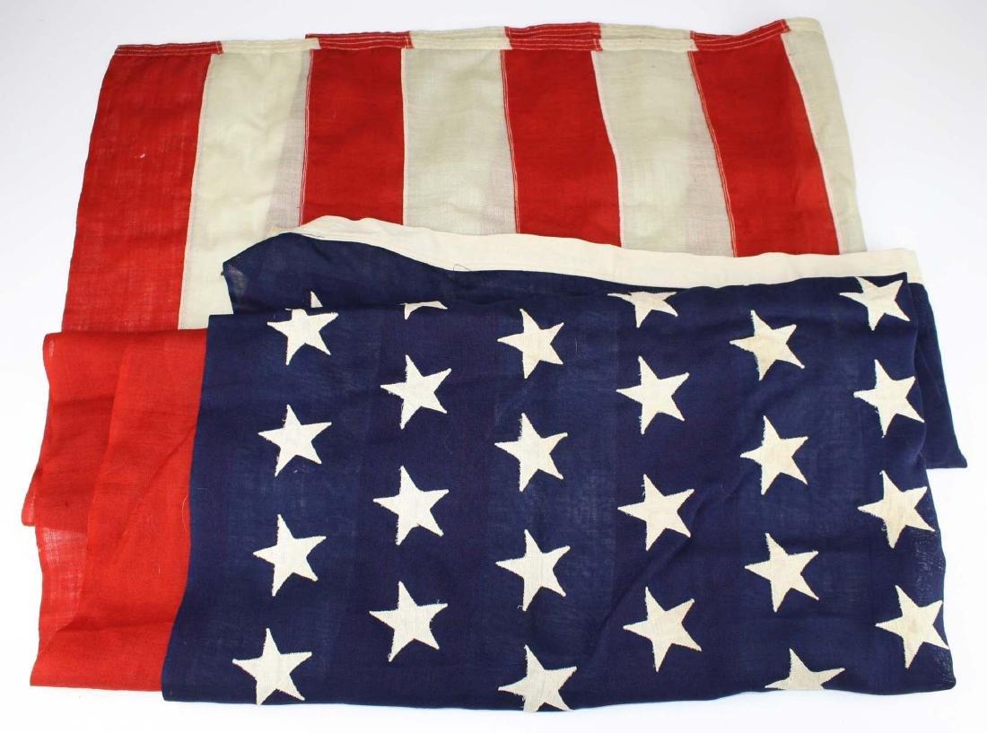 vintage 1896 US 45 star flag