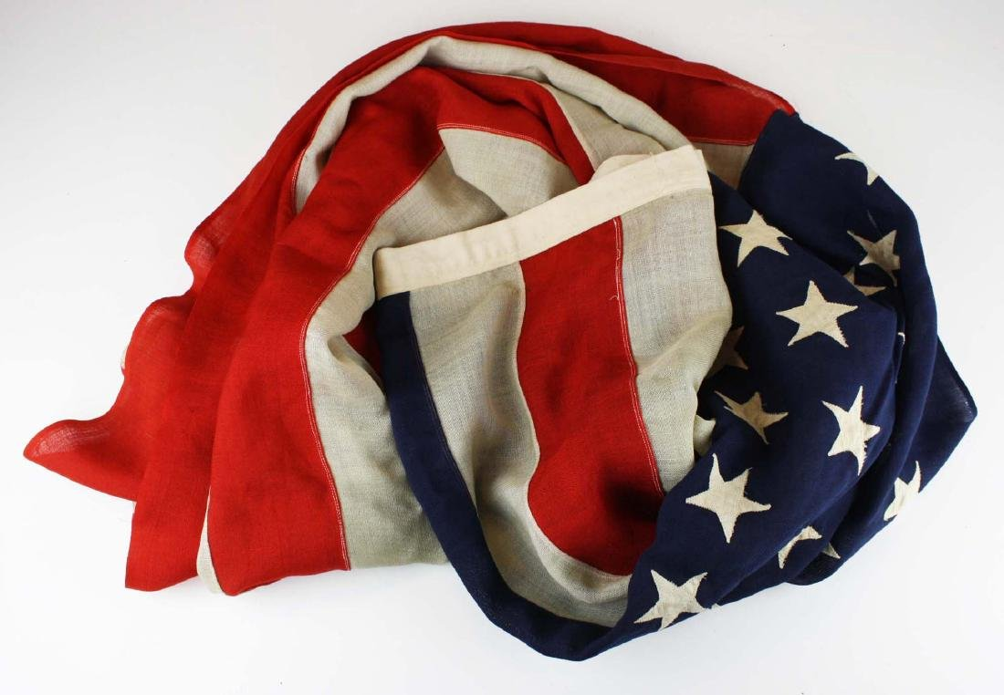 vintage 1896 US 45 star flag - 2