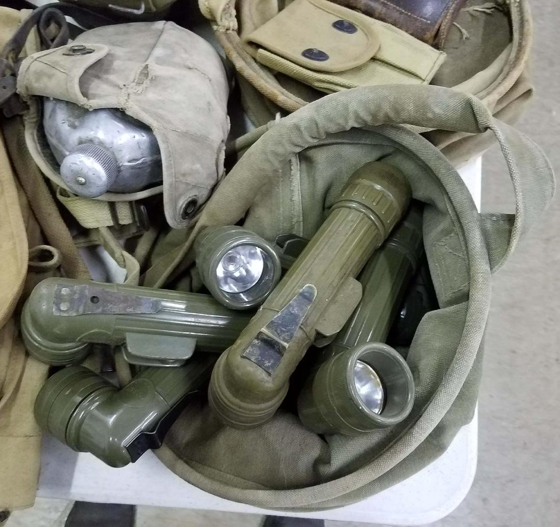 Large table lot of US Military material - 2