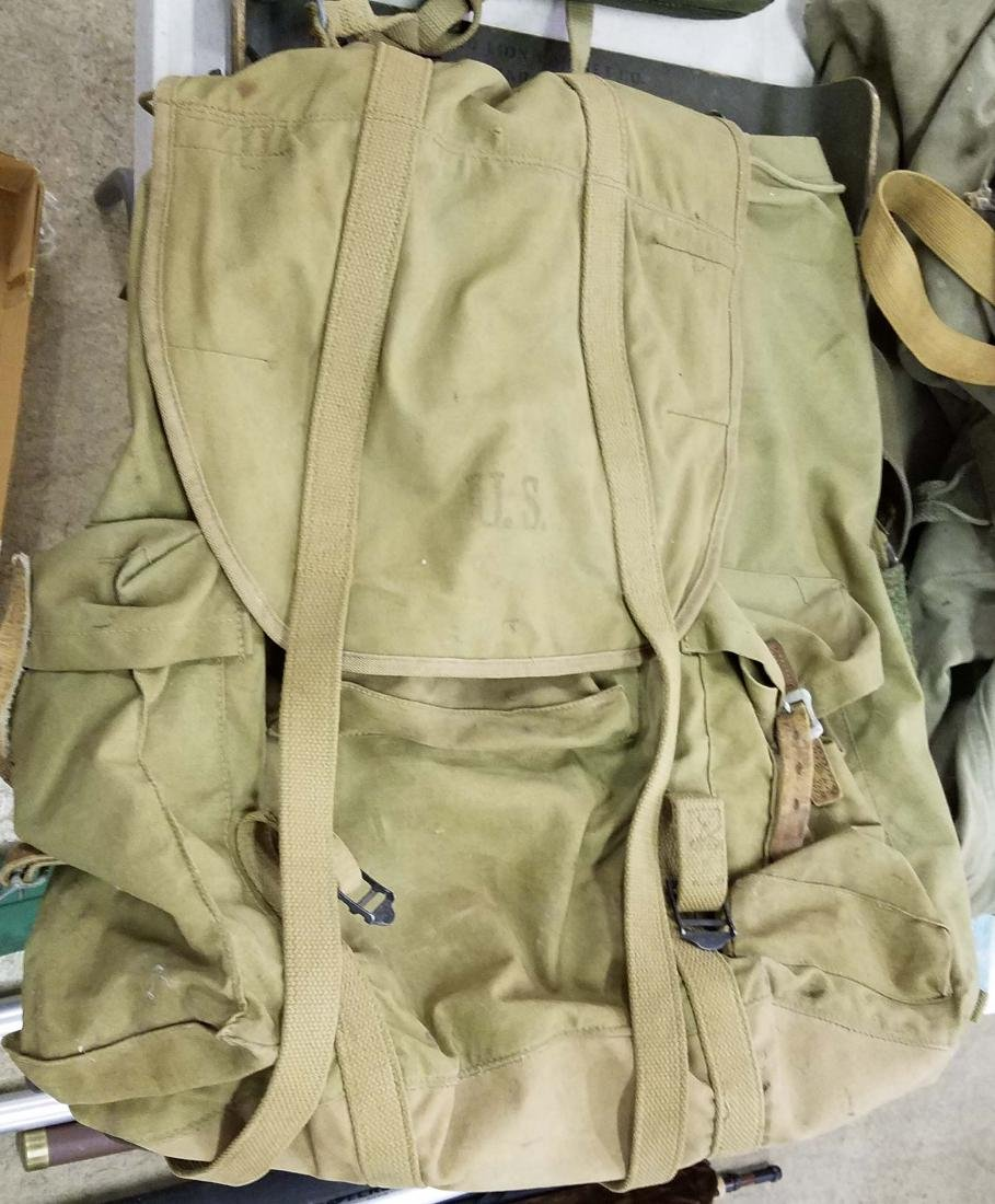 Large table lot of US Military material - 7