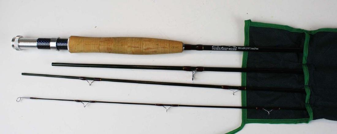 """Rock River 8' 6"""" 4 pc 5 weight fly rod"""