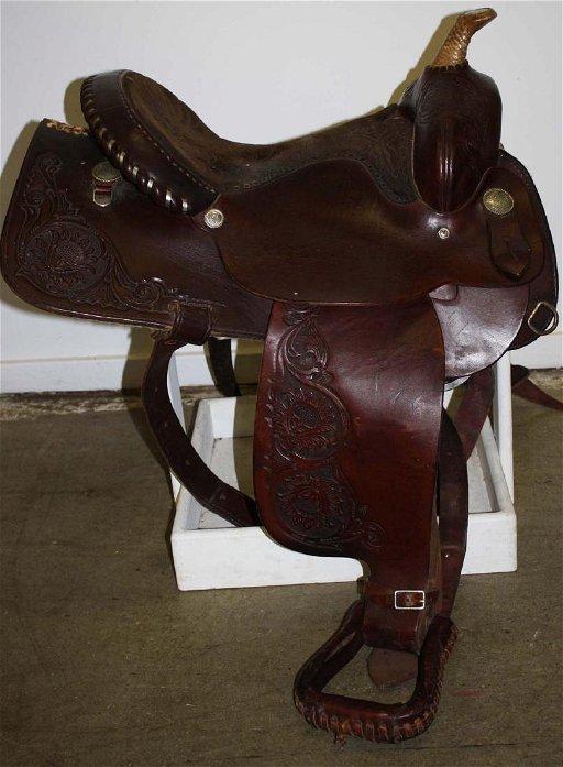 Imperial Saddlery Western style saddle