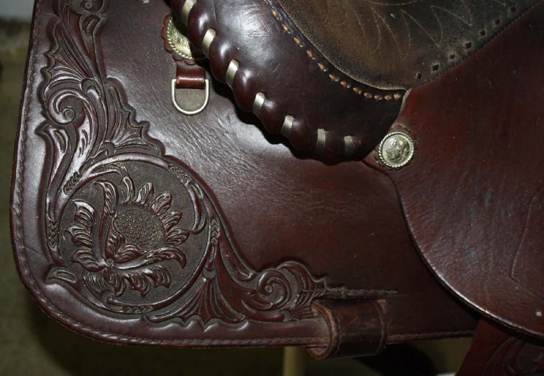 Imperial Saddlery Western style saddle - 2