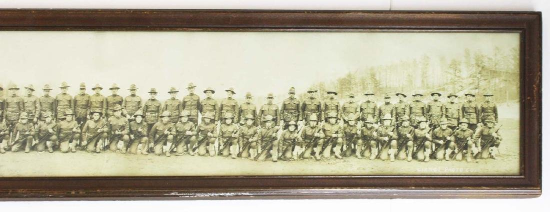US WWI 74th Inf Reg Scouts long photo - 3