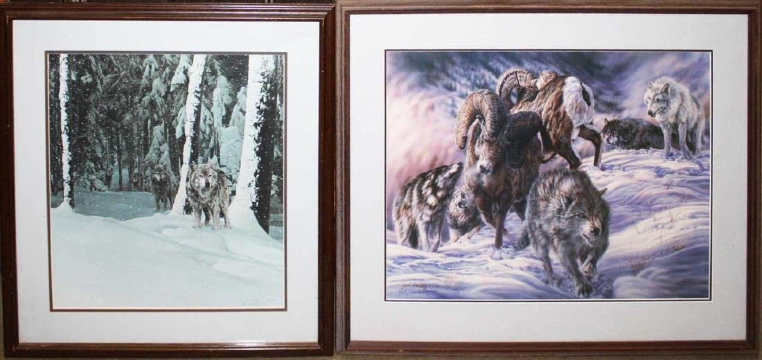 2 collector sporting prints