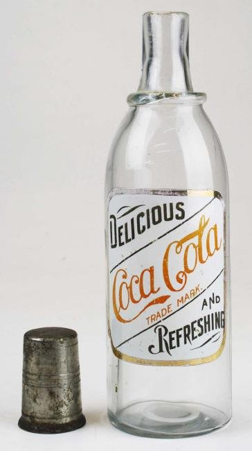 Early Coca-Cola syrup bottle