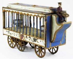 Stoddard Mfg Co overland circus wagon