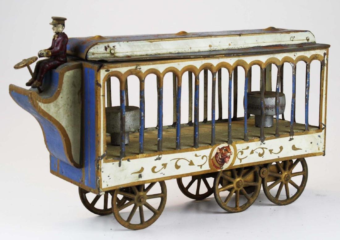 Stoddard Mfg. Co overland circus wagon - 4