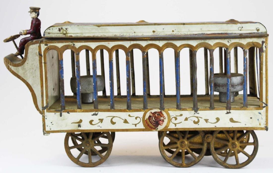 Stoddard Mfg. Co overland circus wagon - 5