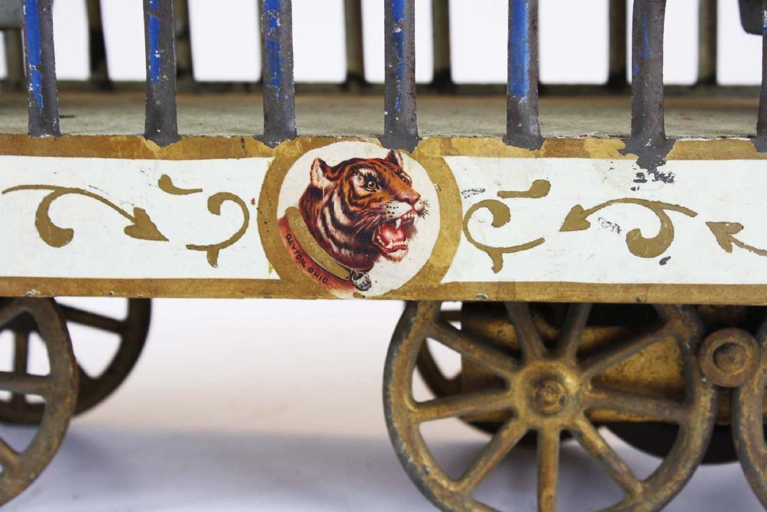 Stoddard Mfg. Co overland circus wagon - 6