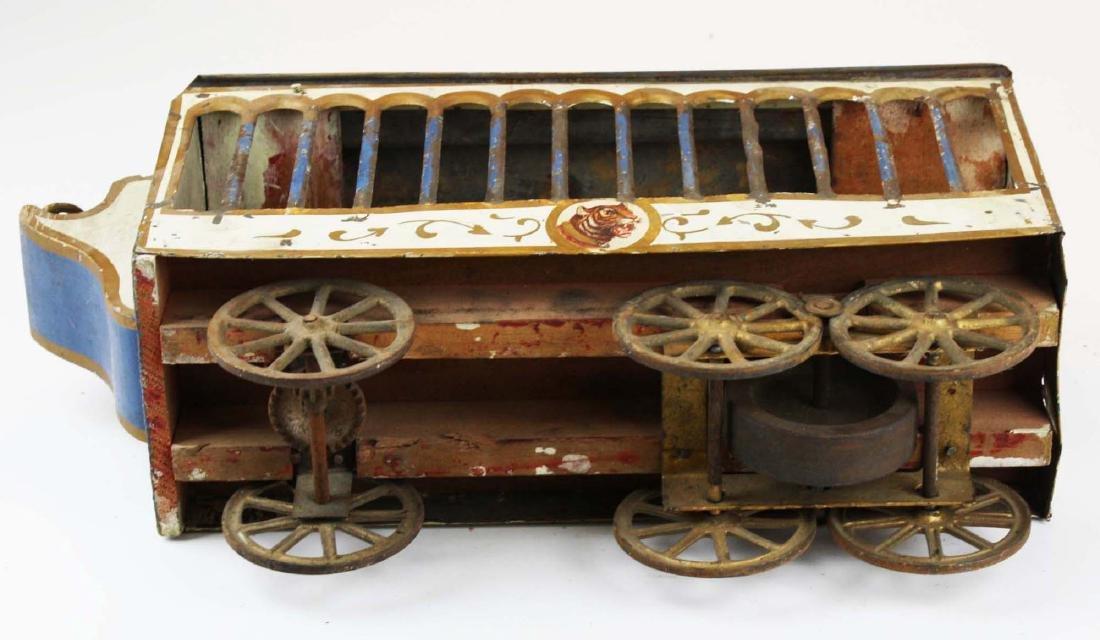 Stoddard Mfg. Co overland circus wagon - 7