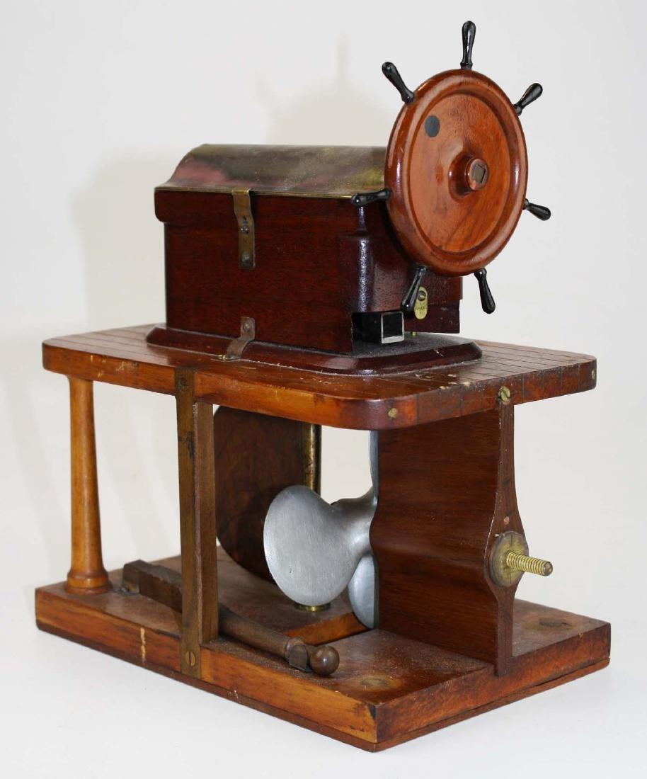 Patent model Hallidays steering apparatus ca 1880 - 2