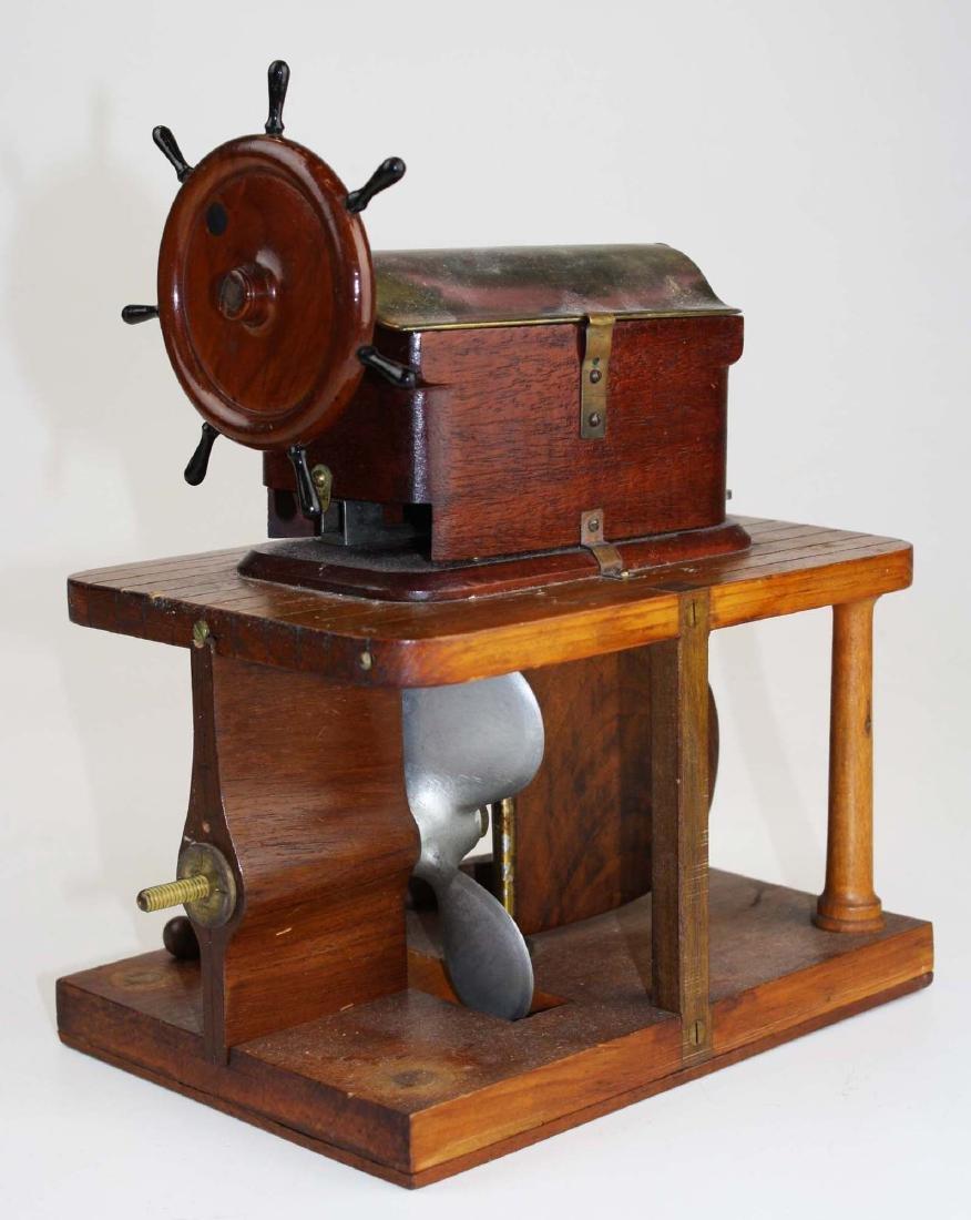 Patent model Hallidays steering apparatus ca 1880 - 4