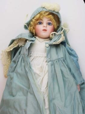 French Bru Jne Bebe closed mouth bisque doll