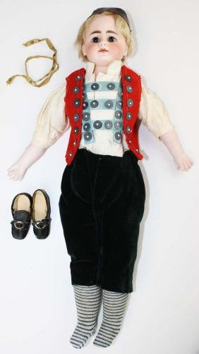 German S&H #950 closed mouth fashion doll