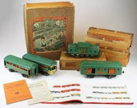 pre-war Lionel standard gauge 352E train set