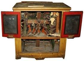 Important mechanical folk art automation