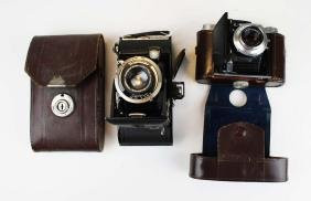 Two Voigtlander cameras Bessa & Perkeo I