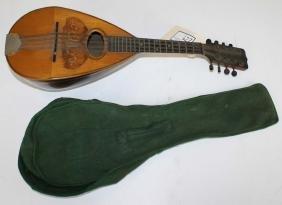 Circa 1890 Neapolitan mandolin