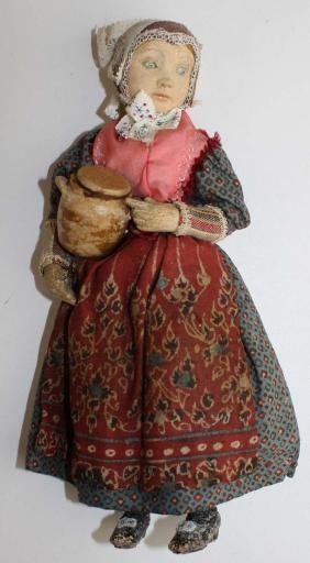 early 20th c Danish character doll