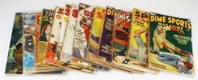 Vintage 1930's sports pulp magazines