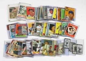 Cigarette era to 1950's baseball & sports cards.