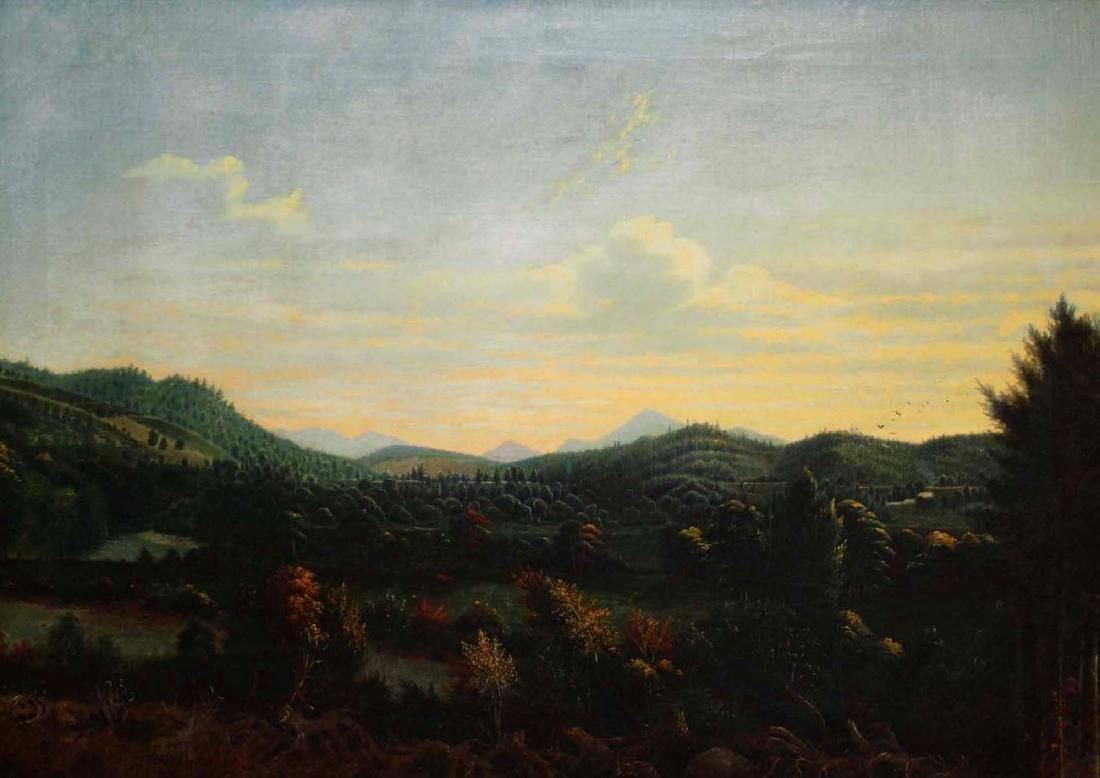 James Hope (VT 1818-1892) Landscape circa 1870