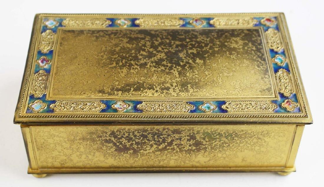 Tiffany Furnaces double X cigarette box