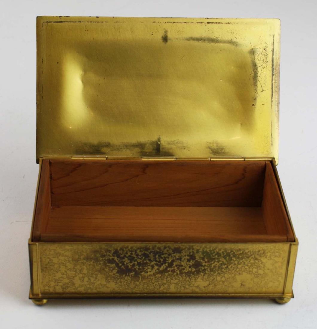 Tiffany Furnaces double X cigarette box - 3
