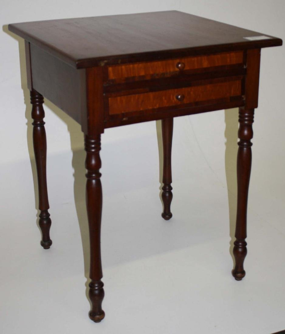Sheraton Two Drawer Stand