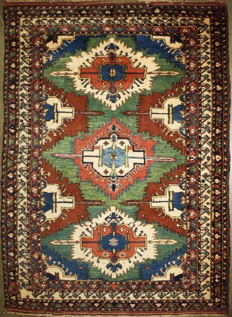 late 20th c Kazak pattern area rug