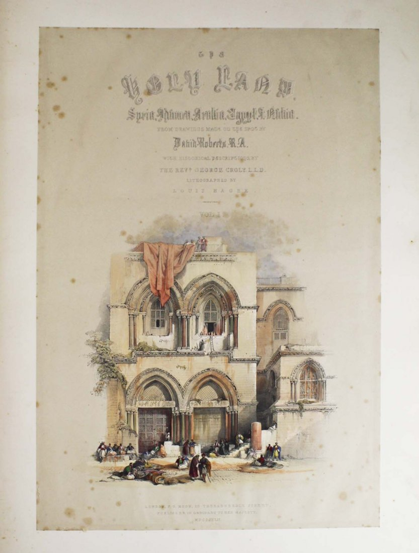 1842 Roberts's Sketches in the Holy Land - 4