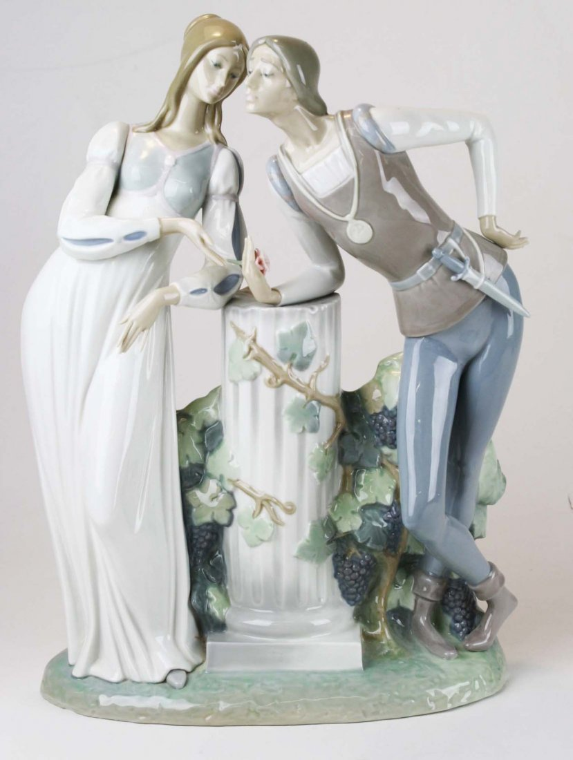 Lladro Romeo and Julliet  porcelain figure