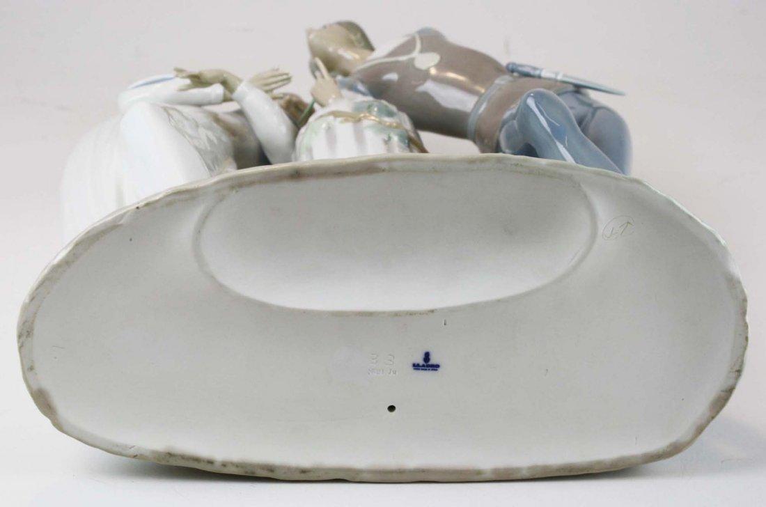 Lladro Romeo and Julliet  porcelain figure - 8