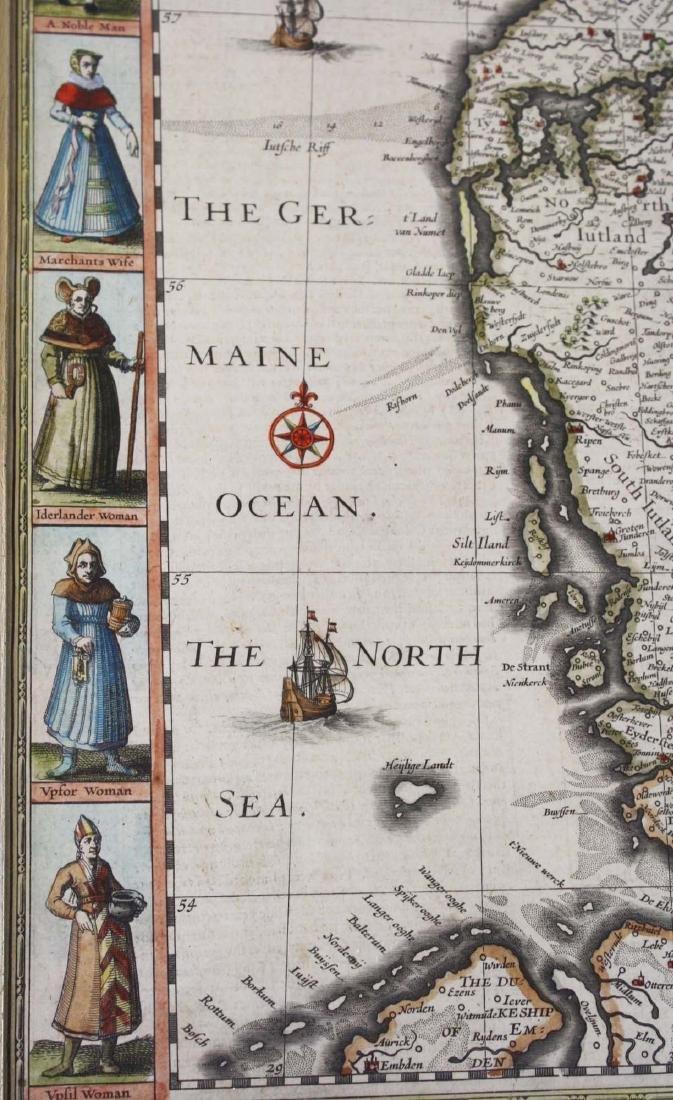 1626 John Speede map Kingdom of Denmark - 7