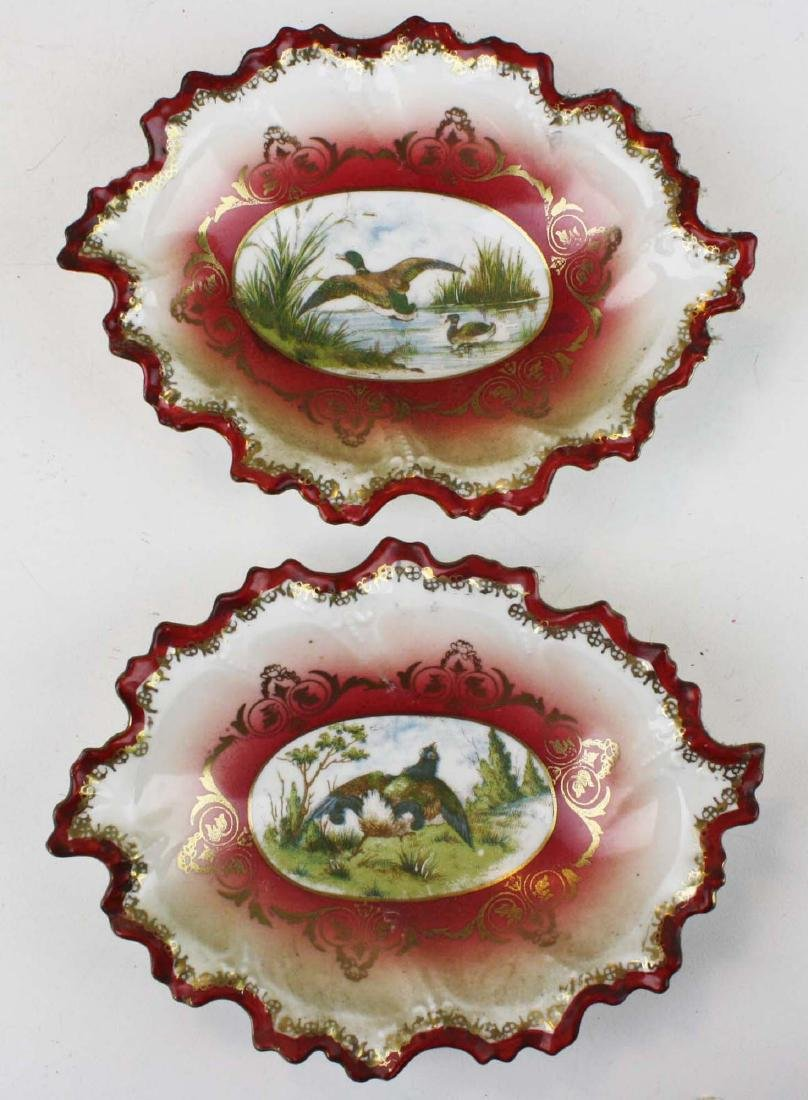Moritz Zdekauer Austrian porcelain game set - 3
