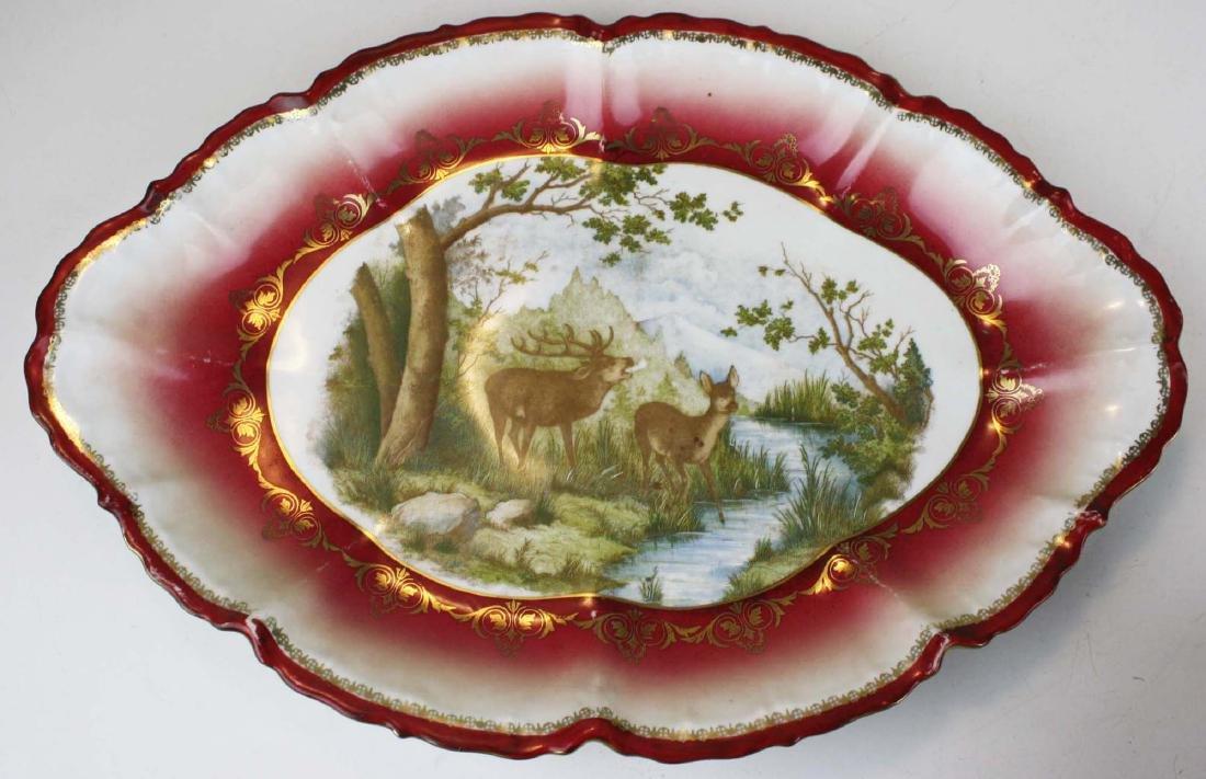 Moritz Zdekauer Austrian porcelain game set - 4