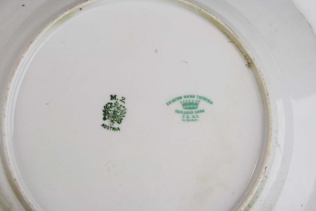 Moritz Zdekauer Austrian porcelain game set - 6