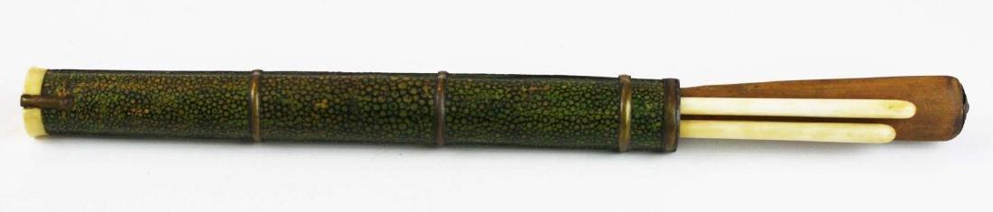 19th c Japanese utencil set.