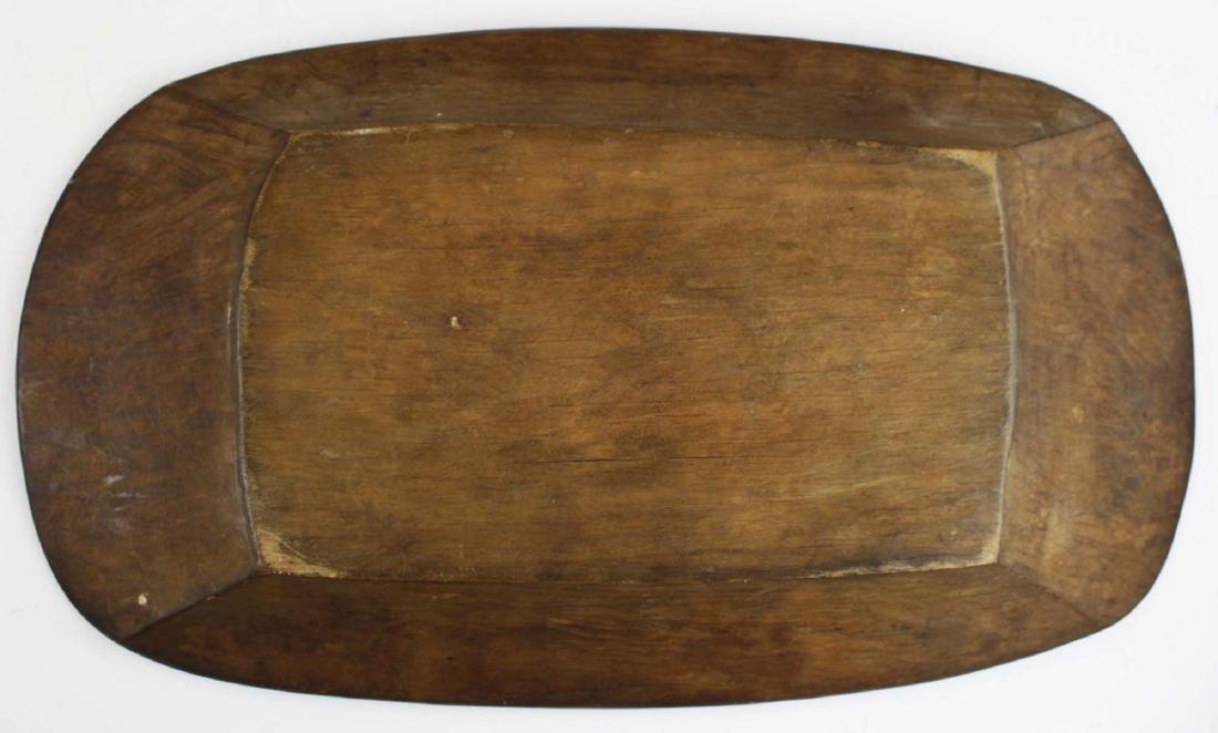 Northwest Coast Haida carved wooden tray - 5