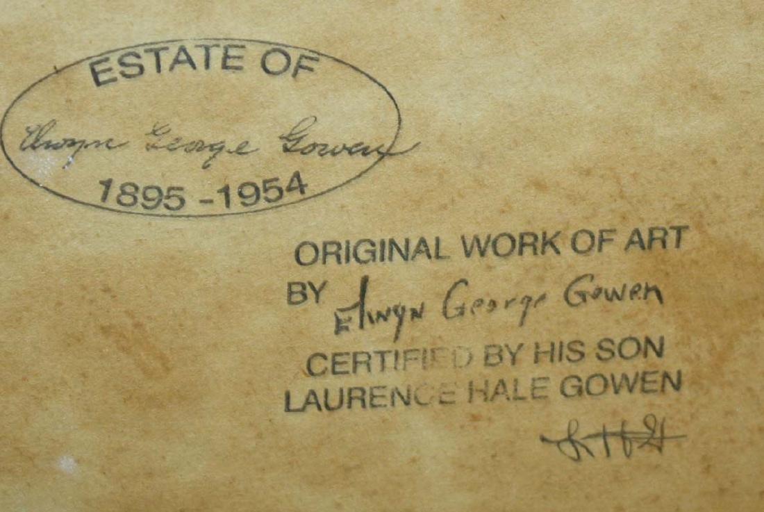 Elwyn George Gowen (MA 1895-1954) - 3