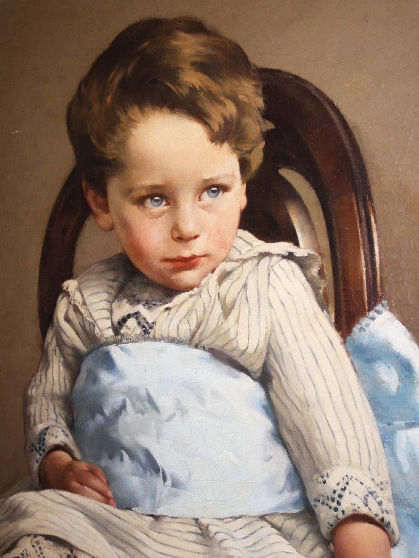 A Otto Selig  portrait of a young boy - 4