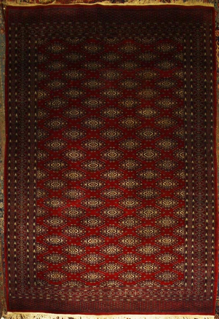 late 20th c Tekke style main carpet