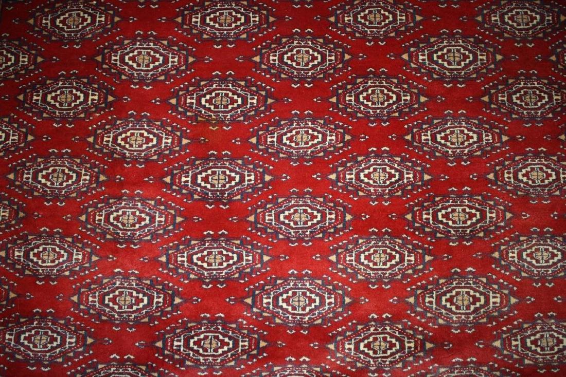late 20th c Tekke style main carpet - 3