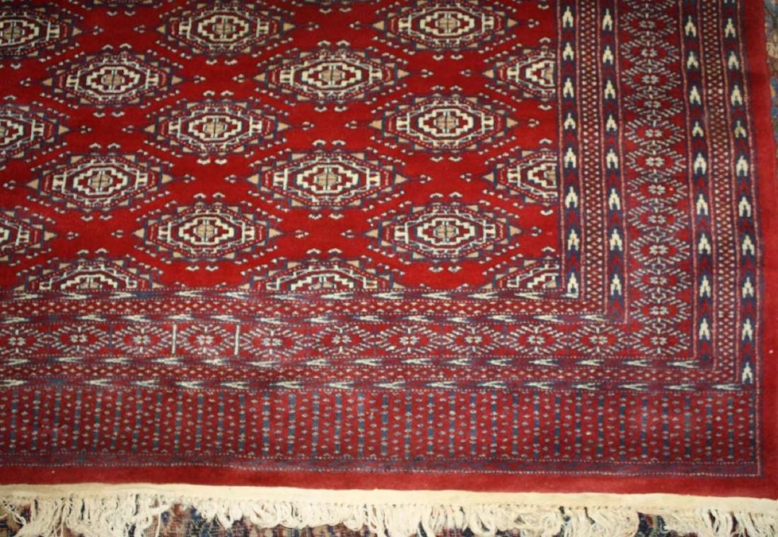 late 20th c Tekke style main carpet - 4
