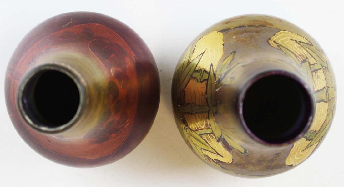 Two Weller LaSa art pottery vases - 4