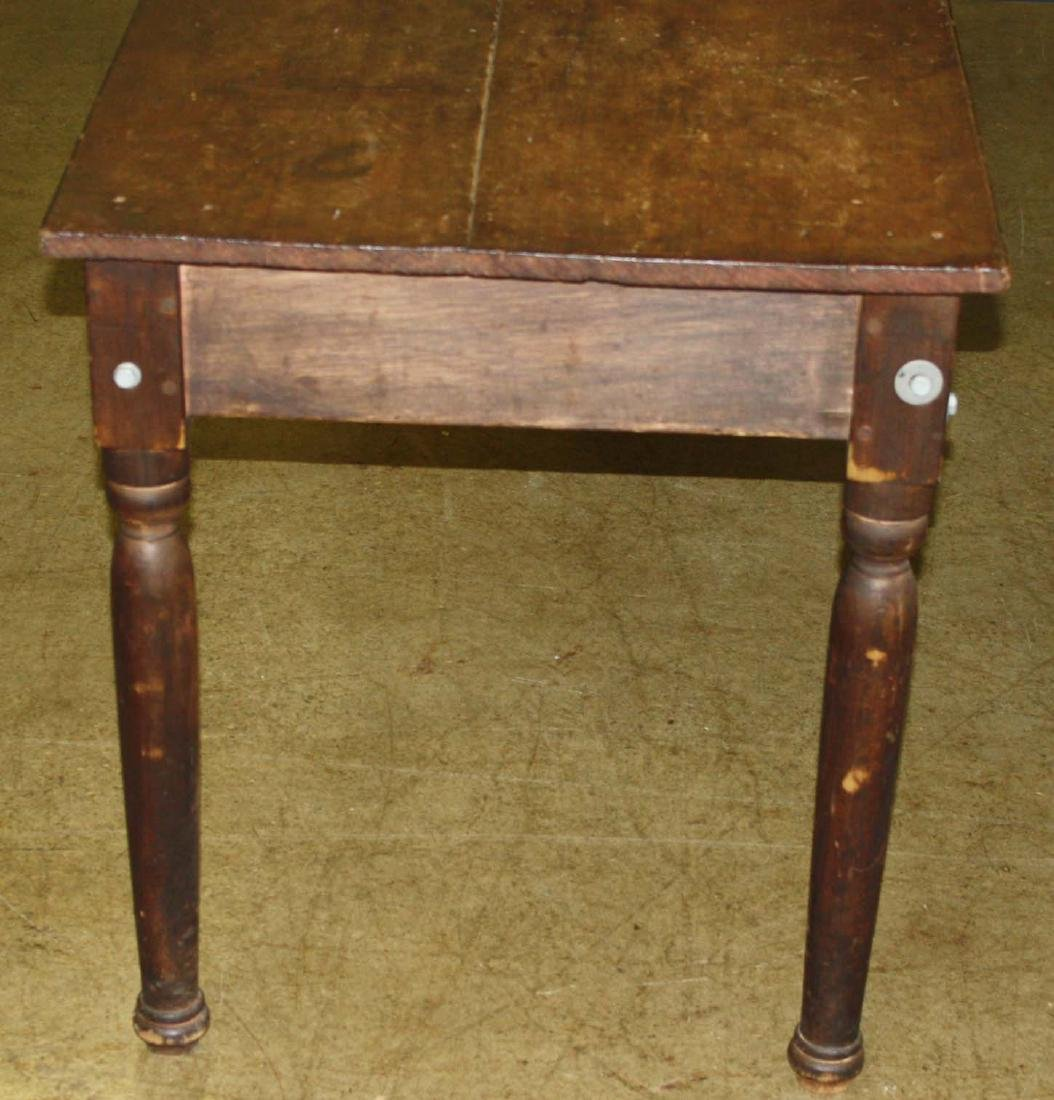 19th C country store table - 2