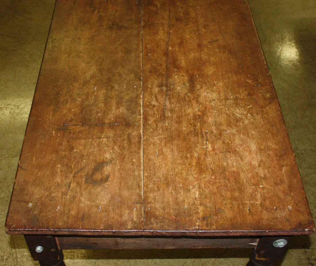 19th C country store table - 3