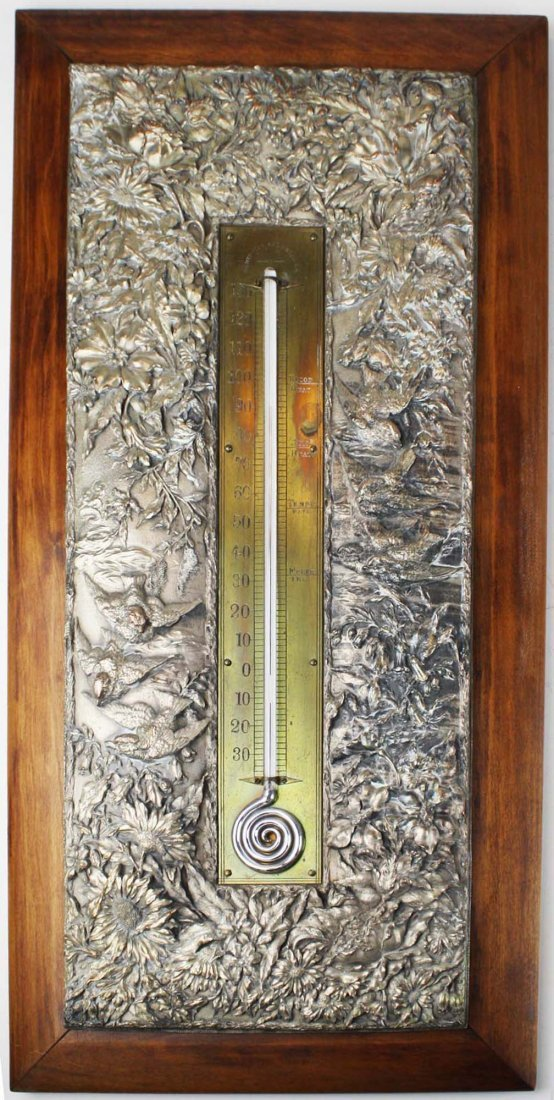 1887 pat Aesthetic Movement thermometer